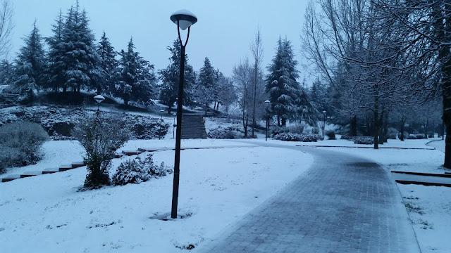 Nieve en Ifrane
