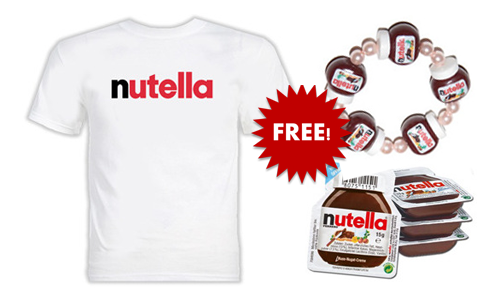 FREE Nutella Ambassador Kit, Nutella Ambassador Kit For FREE, Nutella Ambassador Kit, FREE Nutella Tablecloth, Nutella Tablecloth For FREE, Nutella Tablecloth, FREE Nutella Bracelet, Nutella Bracelet For FREE, Nutella Bracelet, FREE Nutella Sample packs, FREE Sample packs of Nutella, Nutella FREE Sample packs