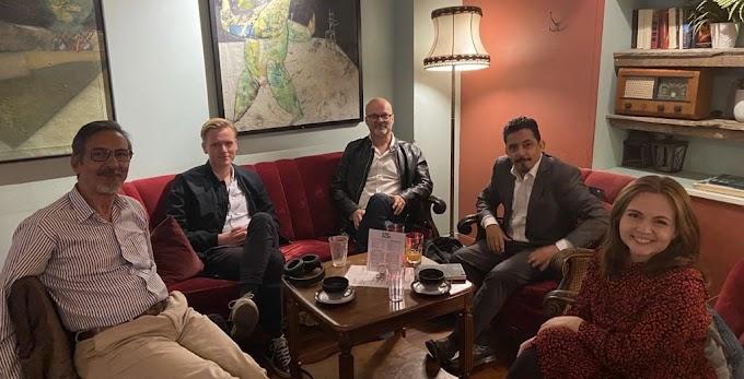 وفد صحراوي في زيارة عمل وتحسيس للنرويج.