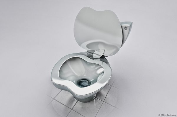 iPoo Toilet by Milos Paripovic
