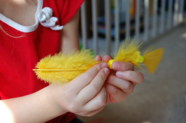 Fine Motor for Bird Theme Homeschool Preschool Unit
