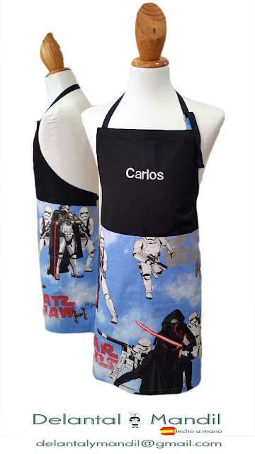 Delantales personalizados Star Wars