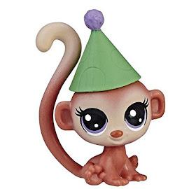 Littlest Pet Shop Series 1 Family Pack Gigi Monkeyford (#1-142) Pet