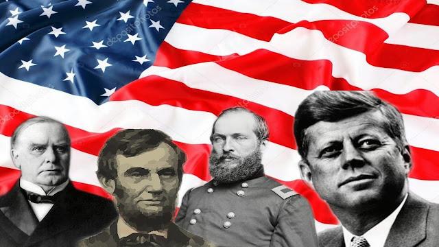 من هم الرؤساء الأمريكيين الأربعة الذين أغتيلوا ؟