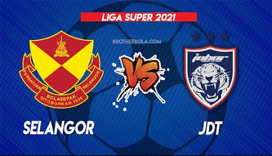 Live Streaming Selangor vs JDT 28.7.2021