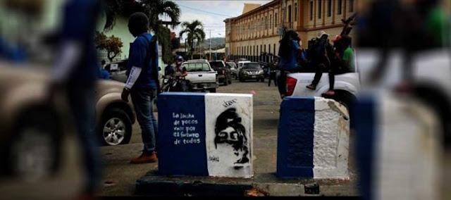 La frase de Neomar Lander que ahora usa la resistencia en Nicaragua