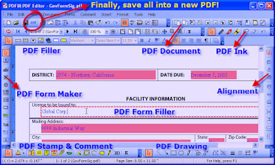 PDFill Pdf Editor Features