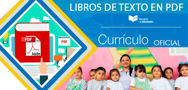 Libros De Texto Ministerio De Educación Ecuador 2018