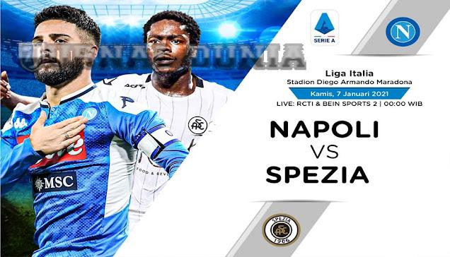 Prediksi Napoli vs Spezia