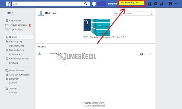 cara menghapus semua status di facebook tanpa aplikasi