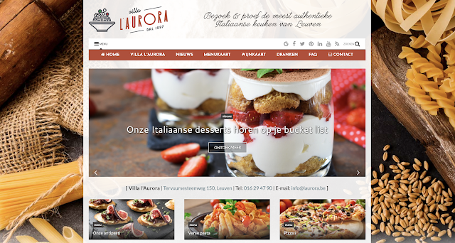 Villa L'Aurora, Smart-Site, UP-TO-DATE Webdesign