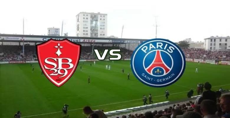 مشاهدة مباراة باريس سان جيرمان وبريست اليوم