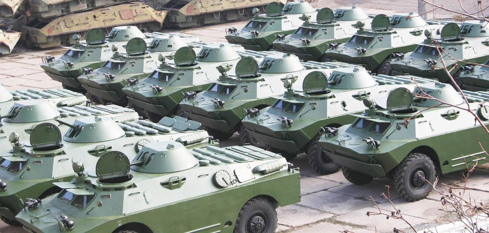 Миколаївський бронетанковий завод виготовив нову партію БРДМ-2 для ЗС України
