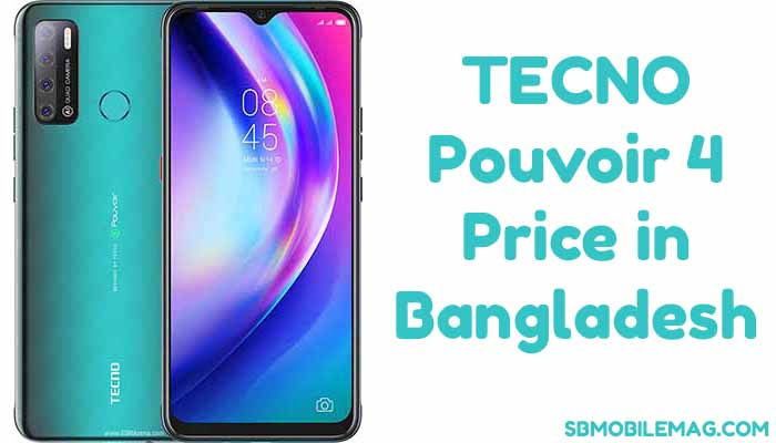 Tecno Pouvoir 4 Price in Bangladesh, Specs, and Features