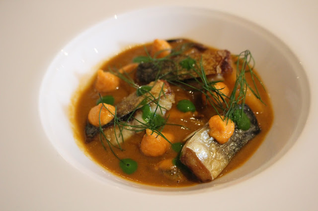 mussels mackerel cawl Hare and Hounds Aberthin