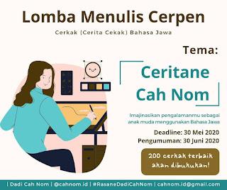 Lomba Menulis Cerpen Bahasa Jawa