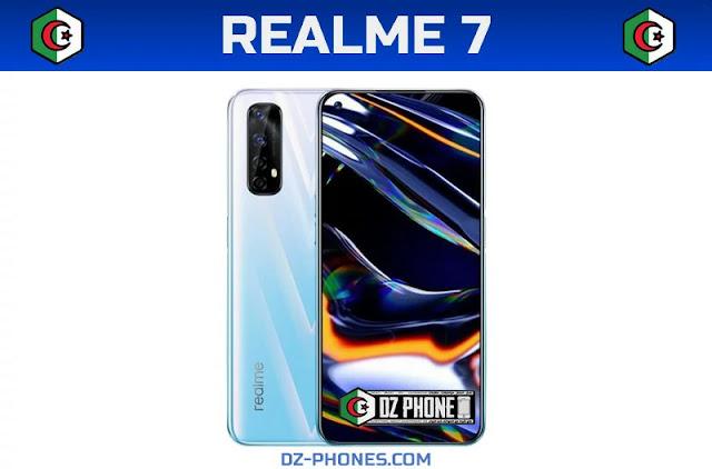 ٌRealme 7  السعر و  المواصفات في الجزائر Realme 7 Prix Algérie