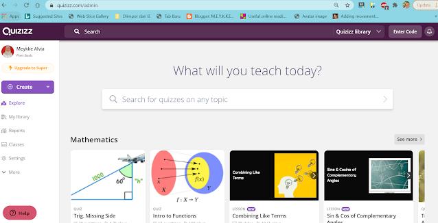 Quizziz adalah salah satu 5 Website Keren Untuk Mengajar Bahasa Inggris Secara Online