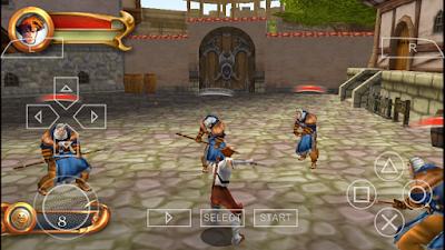 تحميل لعبة Lanfeust Of Troy لأجهزة psp ومحاكي ppsspp
