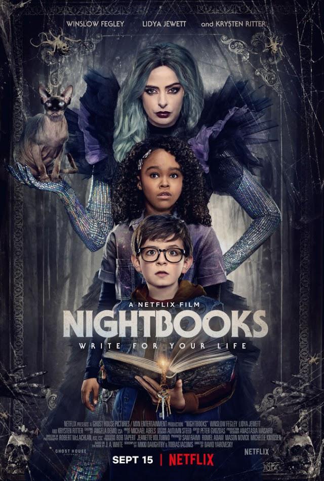 Chega a 15 de Setembro à Netflix o Thriller de Fantasia Nightbooks, Uma Produção de Sam Raimi