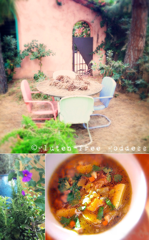 Karina's New Mexican Stew with Ground Turkey + Green Chiles