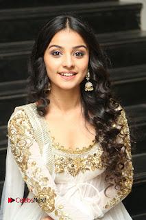 Telugu Actress Mahima Makwana Stills in White Desginer Dress at Venkatapuram Movie Logo Launch  0136.JPG