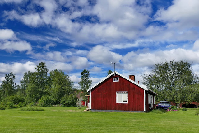 Schwedenhaus, Haus, Schweden, rot
