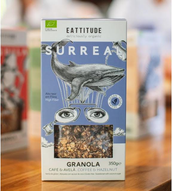 Eattitude apresenta nova granola 100% biológica: Surreal é a nova entrada de gama com sabor a café