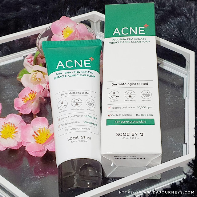 Review Some by Mi AHA BHA PHA 30 days Miracle Acne Clear Foam
