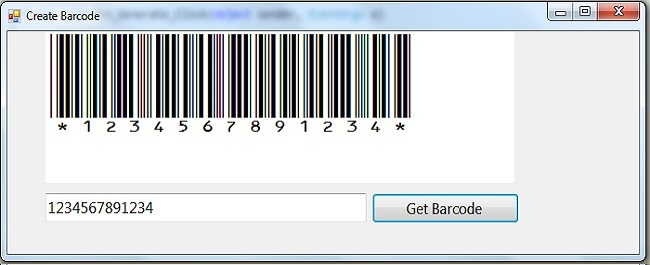 how can we generate and print a barcode stricker using C#