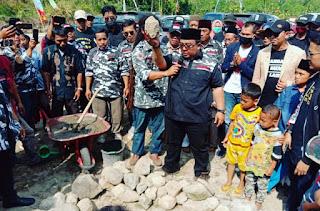 Peletakan Batu Pertama Pembangunan Markas Besar MASJID SAPU JAGAD