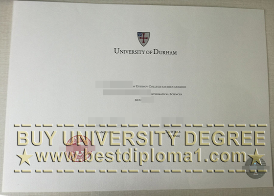 University of Durham diploma
