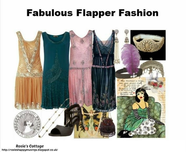 Release your inner designer with Polyvore - Fabulous Flapper Fashion by Rosies Cottage