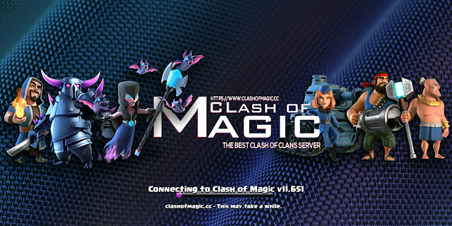 Clash of Magic 11.651 Apk - Clash of Clans Mod Apk
