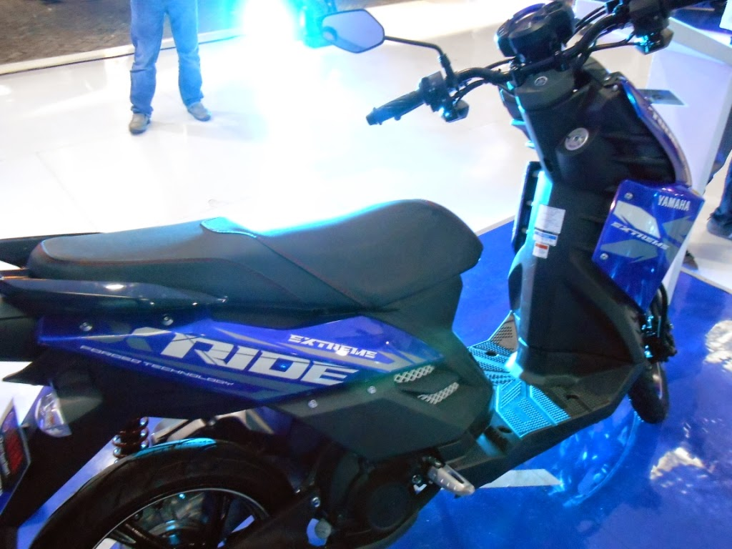 New Yamaha xride 2014 biru