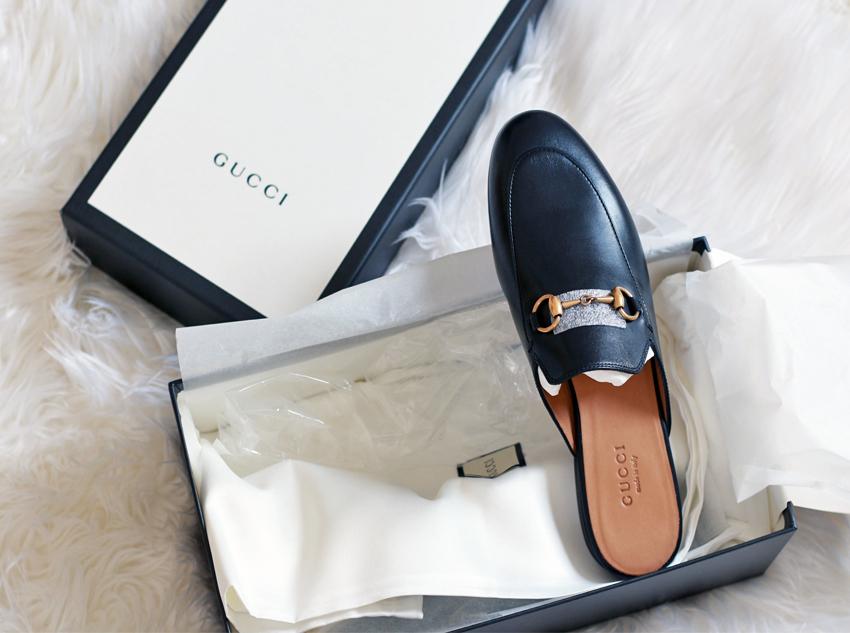 93e60efc8717 Dadou~Chic: Gucci Princetown Leather Horsebit Mule Slipper | Reveal