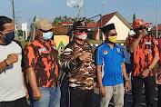 Ketua KNPI Tebo Lepas Peserta Kirab Anak Negeri dan Sholawat Bersama