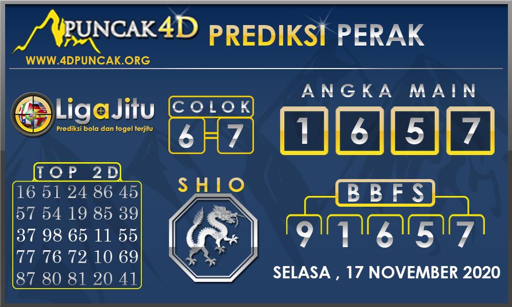 PREDIKSI TOGEL PERAK PUNCAK4D 17 NOVEMBER 2020