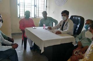 प्राथमिक स्वास्थ्य केंद्र का किया गया निरीक्षण | #NayaSaberaNetwork
