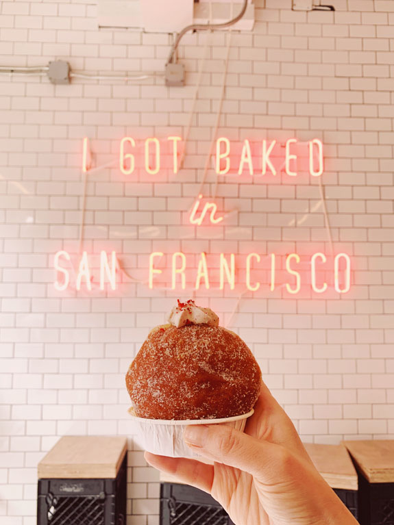 San Francisco Bucket List: get a cruffin at Mr. Holmes Bakehouse
