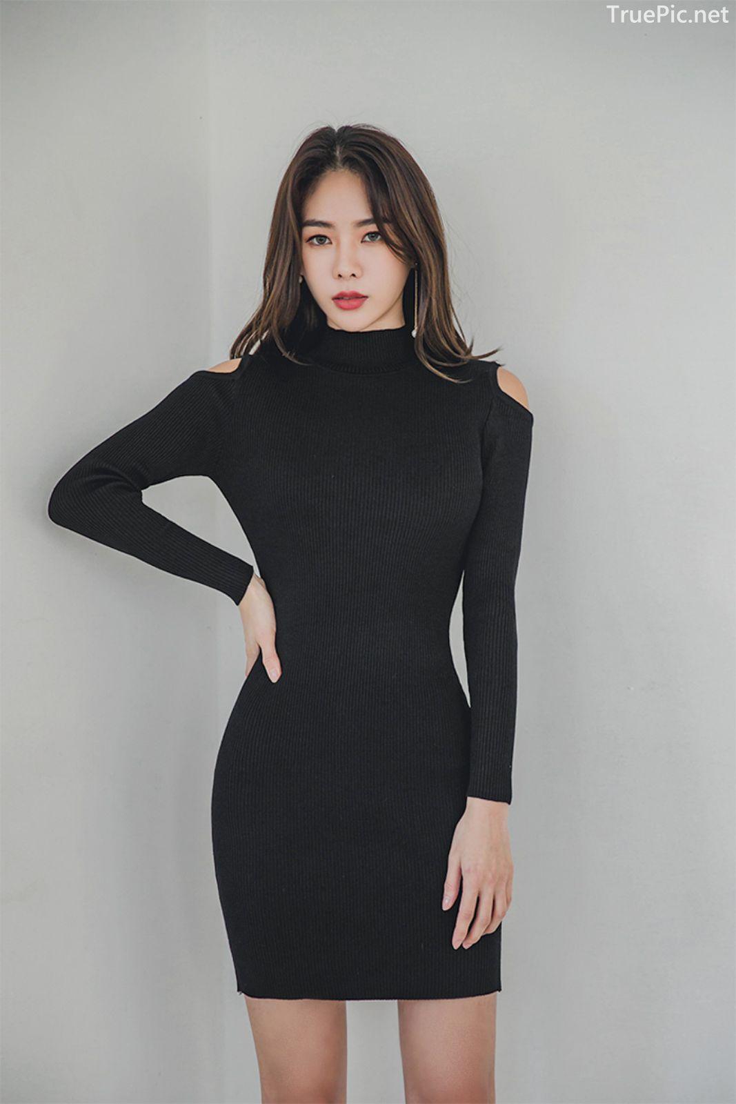 Korean fashion model - An Seo Rin - Woolen office dress collection - TruePic.net - Picture 6