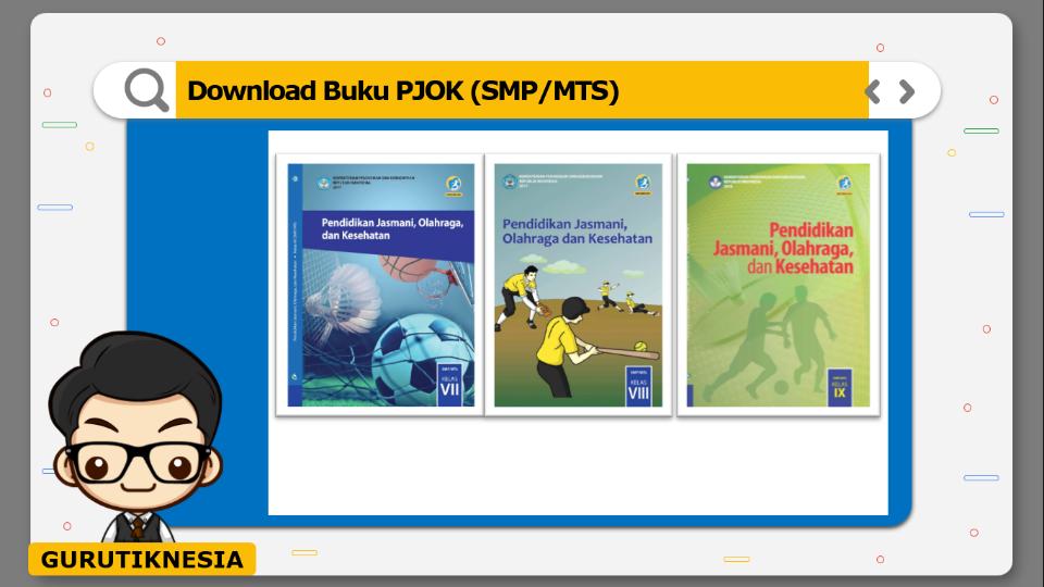 download gratis buku pdf pjok untuk smp/mts