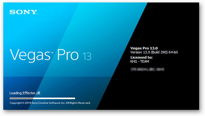 Sony Vegas Pro 13.0 (64-bit) Setup + Keygen For Windows - Free Download