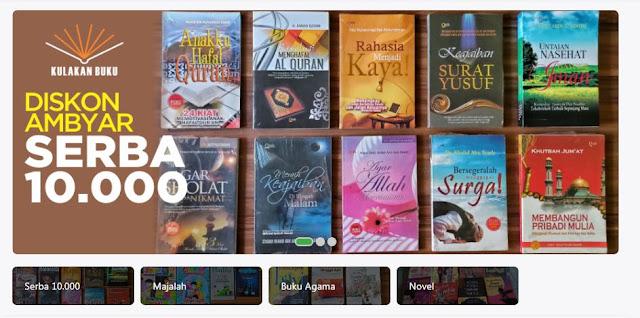 buku murah di toko online kulakan