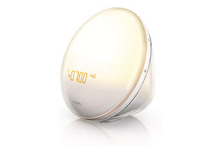 Philips Wake-Up Light Alarm Clock on humbaa.com