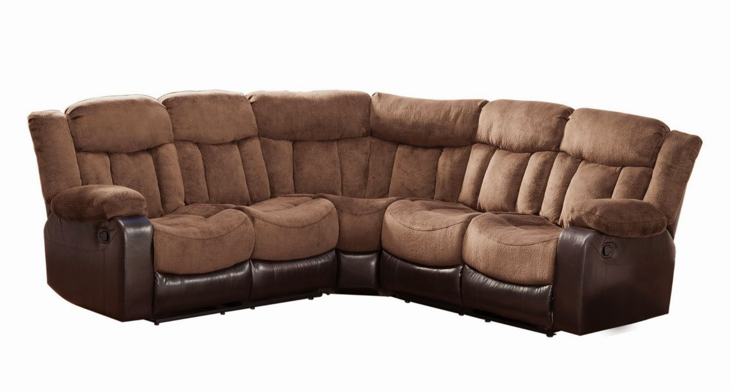Reclining Sofas For Sale Cheap: Saddle Microfiber ...