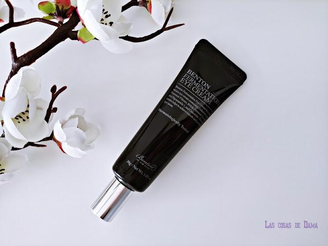 Cosmética Asiática Fermentation Eye Cream Benton contorno ojos beauty belleza skincare