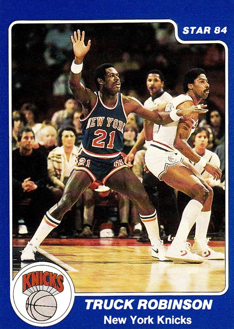 New York Knicks: Cardboard History : Uniform History: New York Knicks