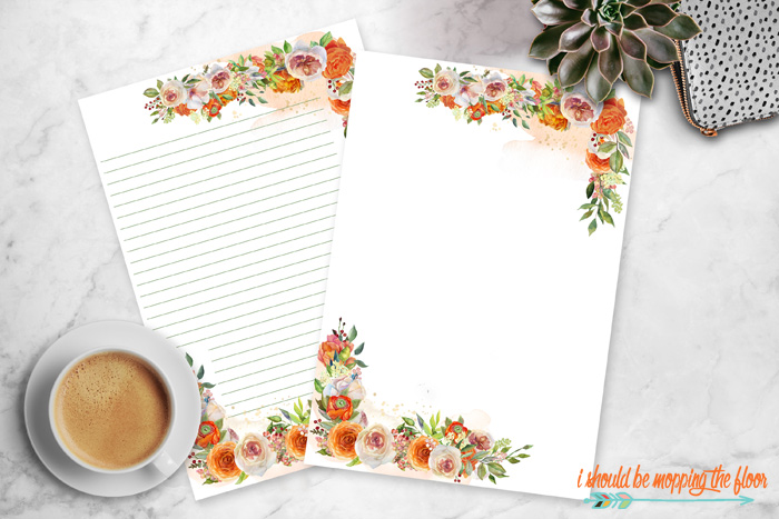 Free Printable Stationery Designs