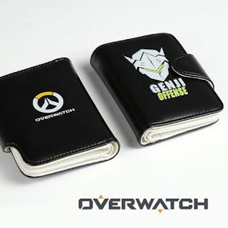 HOT Blizzard Game OVERWATCH Ninjia GENJI Wallets purse PU
